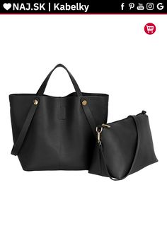 Women's Black Tote Shoulder Bag – Linen and Bedding Leather Clutch Bags, Leather Purses, Designer Bags Sale, Black Duvet Cover, Designer Shoulder Bags, Linen Bag, Shopper Bag, Black Tote, Bag Sale