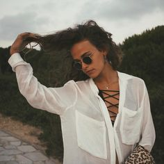 Necklace + Tops + Glasses