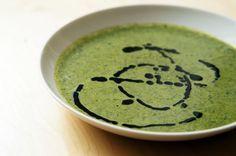 Bärlauch-Kokos-Suppe