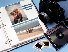 Label your pics in your photo album with Brother's P-touch ® labellers / Identifiez vos photos à l'aide de nos étiqueteuses P-touch ® photo by brothercanada, via Flickr