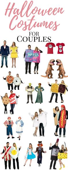 Hallowen Costume Couples Looking for some of the Best Halloween Costumes for Couples? Unique, fun, couples costumes are all the rage, here are some great Halloween Costume Ideas for your next Halloween Party! Great Halloween Costumes, Hallowen Costume, Halloween Costume Contest, Couple Halloween, Halloween Party, Costume Ideas, Halloween Ideas, Awesome Costumes, Group Halloween