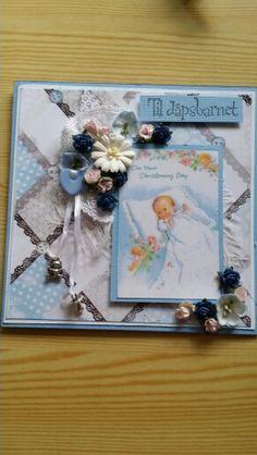 Dåpskort til gutt
