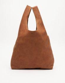 Baggu Bag In Brown Leather