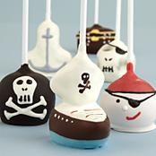Handmade Pirate Cake Pops -Adorable!