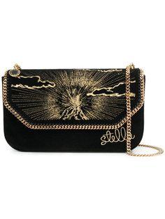 Shop Stella McCartney Falabella embroidered shoulder bag.  StellaMcCartney sFalabellaPurses  Fashion Handbags 10f7d14c70f66