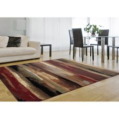 Flora Red Area Rug (7'10 x 10'3) - Overstock Shopping - Great Deals on Alise Rugs 7x9 - 10x14 Rugs