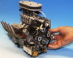 1/4 scale gas V-8 engines, sound just like the real thing!  Conley Precision Engines Inc.