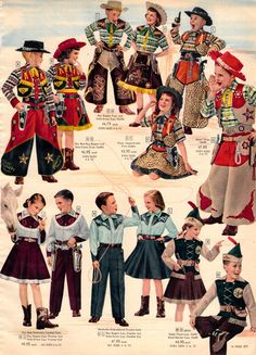1956 Sears Christmas - Cowboy outfits,fir boys and girls . Cowboy Christmas, Christmas Books, Vintage Christmas, Merry Christmas, Christmas Stars, Christmas Catalogs, Retro Ads, Vintage Advertisements, Vintage Ads