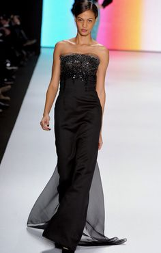Carolina Herrera Evening Dresses | Carolina Herrera Fall 2011 Maxi and Evening Dresses | Beautiful ...