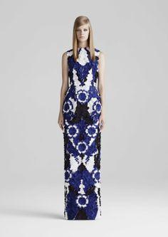 Alexander McQueen défilé croisière 2015 #mode #fashion #couture