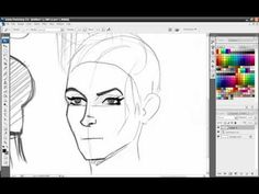 Part 5 Tutorial - Drawing heads/faces from different angles