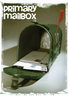 """Love this idea for Primary! A """"primary mailbox"""" where you can put birthday cards etc. Have a reverent child """"get the mail"""" each Sunday. So awesome!"""