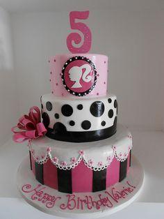Barbie Monster High Doll Themed Birthday Party Ideas cakepins.com