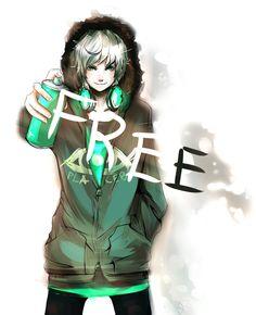 """""""Frey, i'm Frey. i scribe FREE because i want to be it."""" Just like me ! Frey, je suis Frey. j'écris LIBRE parce que je veux l'être. juste comme moi !"""