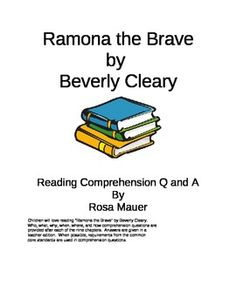 27 best ramona images on pinterest baby books beverly cleary and children will love reading ramona the brave by beverly cleary who what fandeluxe Gallery