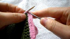 I-cord buttonhole method