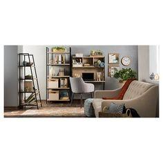 Darley 8 Cube Bookcase - Vintage Oak - Threshold™ : Target