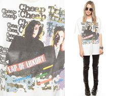 Cheap Trick Shirt Vintage Lap of Luxury Tshirt Band T by ShopExile, $57.00
