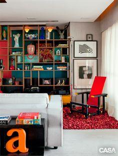 Apartamento grande em Fortaleza aproveita bem a luz natural - Casa
