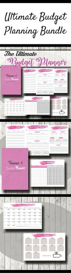 The Ultimate Budget Planner Bundle Printable #ad #budgeting #budget #planner #planning #planneraddict #plannercommunity #plannergirl