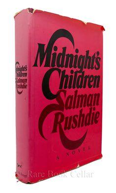 MIDNIGHT'S CHILDREN, Salman Rushdie rare books first editions