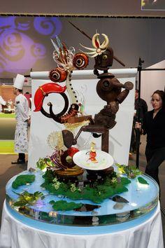Coupe du Monde de Pâtisserie 2013 (Photo LeFotographe.com) Taiwan - Sculpture
