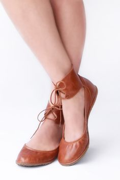 a1f6bde6ea3b6b Handmade   custom fit shoes by TheDrifterLeather. Lace Up Ballet FlatsLeather  ...