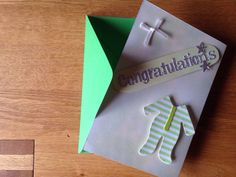A personal favourite from my Etsy shop https://www.etsy.com/listing/231057888/handmade-baby-congratulations-card