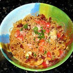 Carrie's Artichoke and Sun-Dried Tomato Pasta Allrecipes.com
