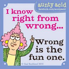 aunty acid Google+