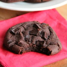 These chocolate brownie cookies are so secretly healthy that no one will ever know. And yes, they are healthy enough to eat for breakfast.