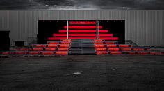 is this good? were invited to create an interactive installation at Nuits Sonores, an electronic music and art festival in Lyon, France, in May 2013. We worked alongside Lyon-based Architects lookingforarchitecture.com to create a huge interactive pyramid. A matrix of 6 Kinect cameras tracked people as they moved across the pyramid, triggering DMX lighting in the structure and generative graphics on the screens above.