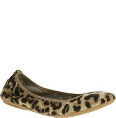 Leopard ballet flats!
