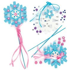 Amazon.com: Snowflake Wand Kits (Pack of 4): Toys & Games