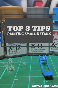 Top 3 Tips on Painting Small Details