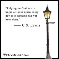 C.S. LEWIS QUOTES — www.Driven Deep.com