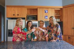 Etsy robes. Bridesmaids getting ready. Photography by Candy Capco Photography, Wellington, New Zealand