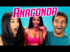 Teens react: Anaconda by Nicki Manaj. Has a really interesting discussion section about feminism, how women are being portrayed in the media, and the empowerment of expressing your sexuality vs objectification.