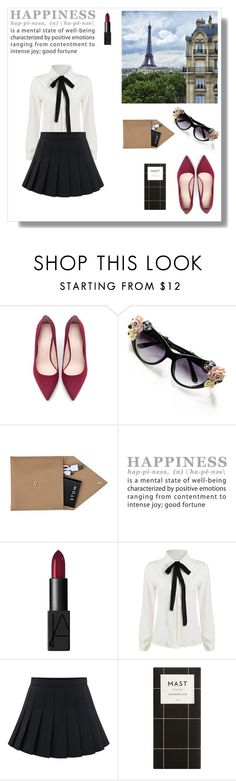 """""""Hap.pi.ness"""" by gina-is-in-style ❤ liked on Polyvore featuring мода, Lonely Planet, Zara, STOW, NARS Cosmetics, women's clothing, women, female, woman и misses"""