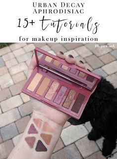 Urban Decay Aphrodisiac Palette Tutorials and Looks for Inspiration - Break out of a makeup rut! Get inspired by these gorgeous tutorials and looks.