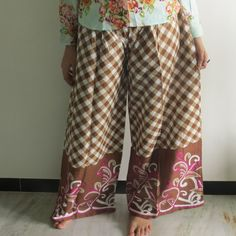 Pajamas made From  JJ3 Fabric Pattern