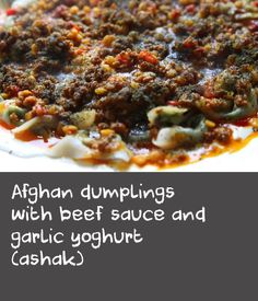Afghan dumplings with beef sauce and garlic yoghurt (ashak) | Chana dal is a type of pulse, related to the chickpea. Chana dal has a very low glycaemic index so it makes a good addition to the diabetic diet. This recipe for ashak involves two hours of preparation, but you can lighten the workload by recruiting a few extra pairs of hands to help.