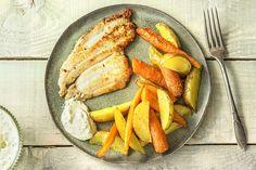 Hello Fresh Recipes, My Recipes, Dinner Recipes, Filets, Saveur, Bbq, Fish, Vegetables, Healthy