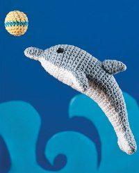 Free Amigurumi Patterns - I made the dolphin last Christmas....really cute!