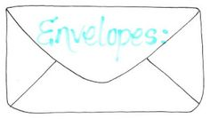 MORE envelope templates