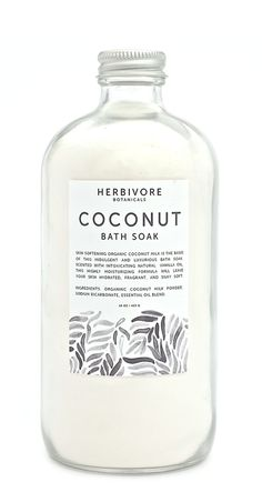 Organic coconut milk powder and vanilla oil combine in this skin-softening and…