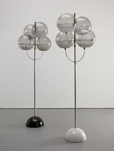 Vico Magistretti, Pair of 'Colleoni' standard lamps