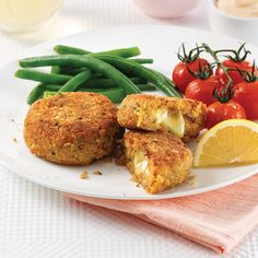 Poisson/fruits de mer - Page 4 of 27 - 5 ingredients 15 minutes Cheddar, Crab Cakes, Tandoori Chicken, Salmon Burgers, Coconut, Vegetarian, Ethnic Recipes, Food, Hashtags
