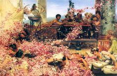 Sir Lawrence Alma-Tadema – Rosas de Heliogábalo (The Roses of Heliogabalus) - 1888