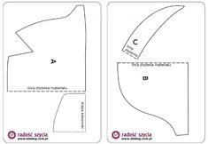 Elegancka nerka/saszetka na biodro (opis jak uszyć nerkę oraz wykrój do pobrania)   eti-blog (blog o szyciu)
